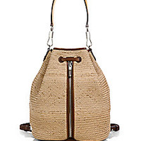 Elizabeth and James - Cynnie Woven Sling Backpack - Saks Fifth Avenue Mobile