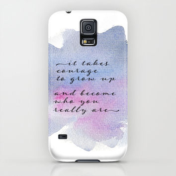 it takes courage iPhone & iPod Case by Sylvia Cook Photography