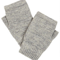 Chenille-Lined Hand Warmers
