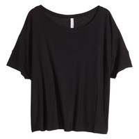 H&M - Ribbed Jersey Top