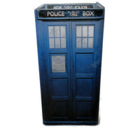 Doctor Who TARDIS Candle Holder, Geeky Home Decor