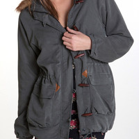 obey - women&#x27;s sherpa bridgeport 2 jacket (forest) - obey | 80&#x27;s Purple