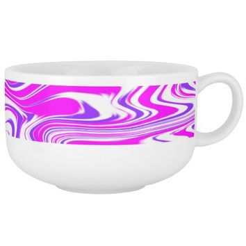 """Taffy"" Abstract Soup Mug"