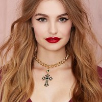 Cross My Heart Chain Necklace