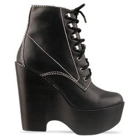 Jeffrey Campbell Tardy in Black at Solestruck.com
