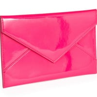 Envelope, Pink, Medium, Clutches & Evening Bags