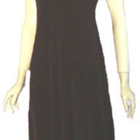 Lillie Rubin Slinky 70s Vintage Slip Dress
