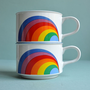 Sunny Korea Rainbow Mugs