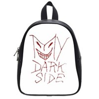 My Dark Side Typographic Design School Bag (Small)