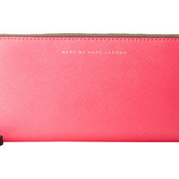 Marc by Marc Jacobs Sophisticato Colorblocked Slim Zip Around