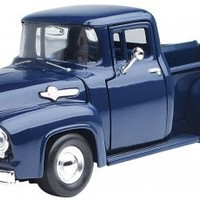 1956 Ford F-100 Pickup Blue 1/24