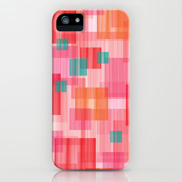 Abstract Red iPhone & iPod Case by eDrawings38 | Society6