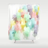 Pastel Dreams Shower Curtain by 2sweet4words Designs