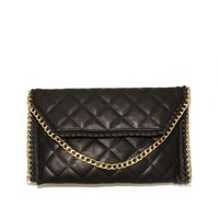 West Coast Wardrobe City Lights Clutch in Black