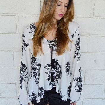 Winter's Bloom Top