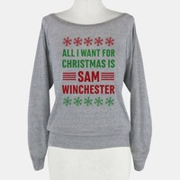 All I Want For Christmas Is Sam Winchester