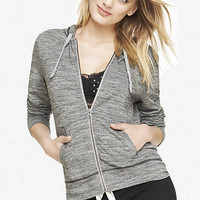 MARLED ZIP-UP HOODIE from EXPRESS