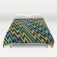 Path of Life Duvet Cover by Alice Gosling