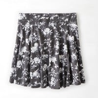AEO Women's Printed Circle Skirt (Ditsy)