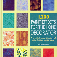 Book: 1200 Paint Effects for the Home by Ray Bradshaw