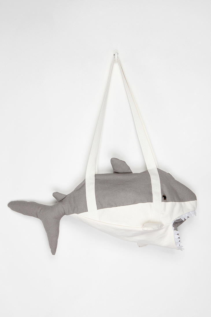 Cooperative Shark Duffle Bag