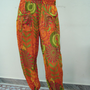 Spring Summer Holiday Cotton Harem Trouser Baggy Genie Alibaba Aladdin Pants Trouser Boho Hippie Yoga Pant India Printed Pant