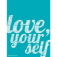 "Dormify For WeStopHate ""Love Yourself"" Print"