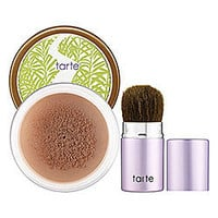 Sephora: Amazonian Clay Bronze Finishing Powder & Deluxe Kabuki Brush Set : bronzer-face-makeup