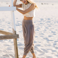 Urban Renewal Recycled Gauze Harem Pant - Urban Outfitters