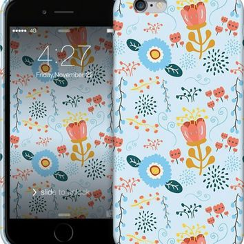Spring Florals iPhone Cases & Skins by Emily Cromwell | Nuvango