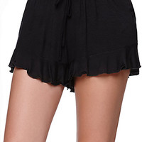 LA Hearts Ruffle Hem Shorts at PacSun.com