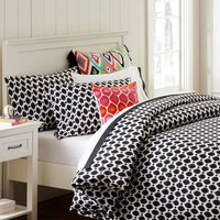 Ikat Dot Organic Duvet Cover &amp;amp; Pillowcases