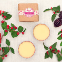 Lotion Bars, Sweet Cream &amp; Berries - Warm Vanilla, Strawberry, and Blackberry - All Natural