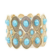 TURQUOISE STONE BRACELET