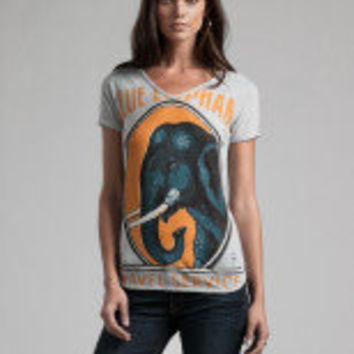 Blue Elephant T-Shirt - T-Shirts  Knits - Lucky Brand Jeans $38