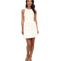 Angie Structured White Dress