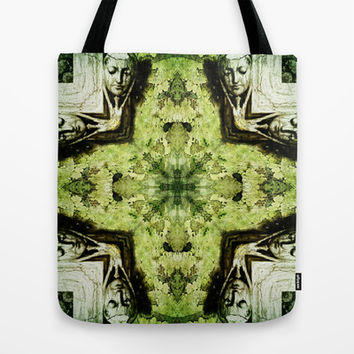 Textured Masquerade  Tote Bag by Louisa Catharine Design