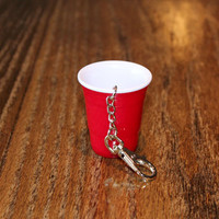 Luckless Clothing Co | Red Solo Keychain
