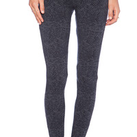 Splendid Python Legging in Gray