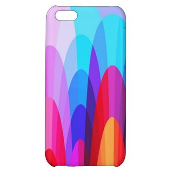 Cool Colorful Geometric Pattern Abstract Design Iphone 5C Case