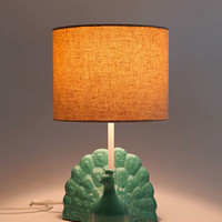 Plum & Bow Peacock Table Lamp - Urban Outfitters