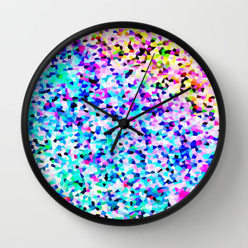 Sublime Color #2 Wall Clock by 2sweet4words Designs | Society6