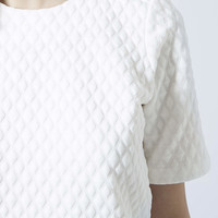 Geo Quilted Tee