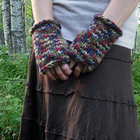 Colorful Fingerless Glove Cuffs