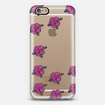Sugar Skull Roses iPhone 6 case by Sandra Arduini | Casetify