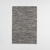 Painter's Cotton + Wool Rug - Feather Gray
