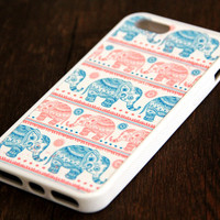 Elephant iPhone 6 Plus iPhone 6 iPhone 5S iPhone 5C iPhone 5 iPhone 4S/4 Rubber Case