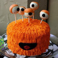 Super Cool / Cake pop eyes for monster cake
