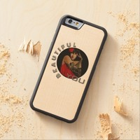 Beautiful You iPhone6 Wood Carved case