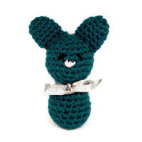 Crochet Bunny Doll: Samuel the Miniature Amigurumi Bunny Plush